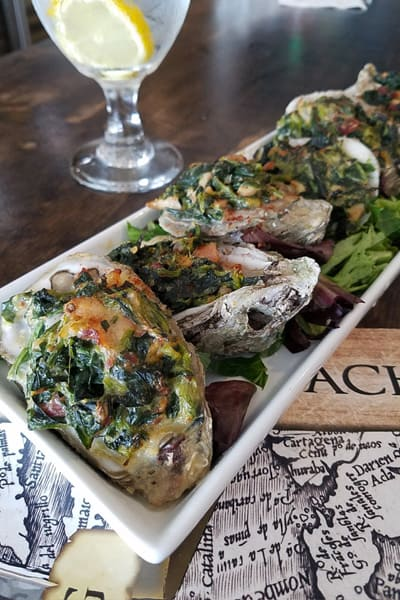 grille and grog oysters rockefeller