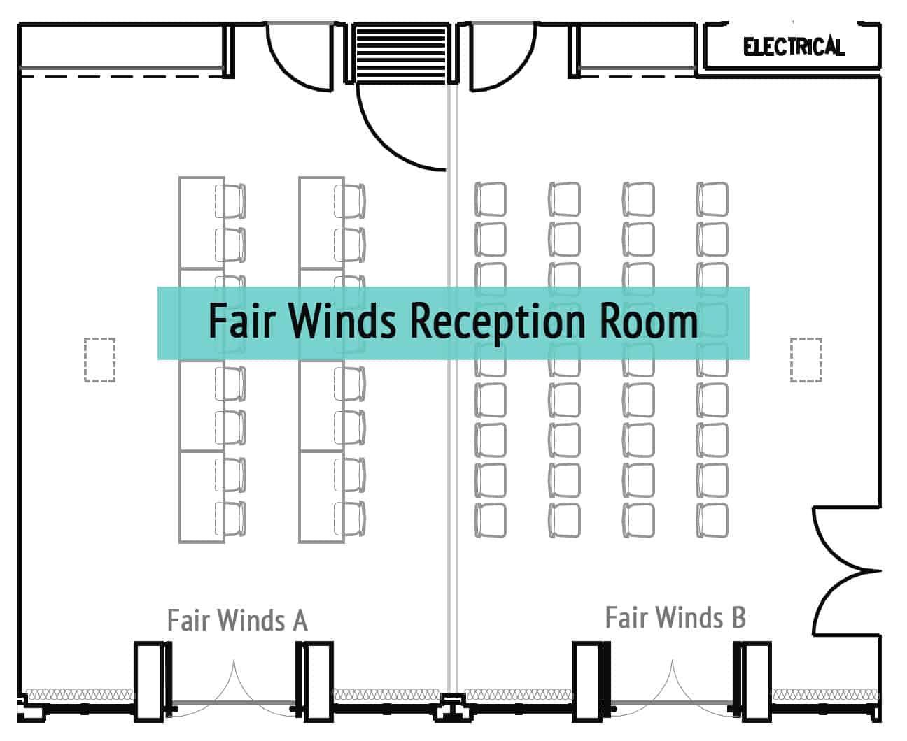 Fair Winds Reception Room